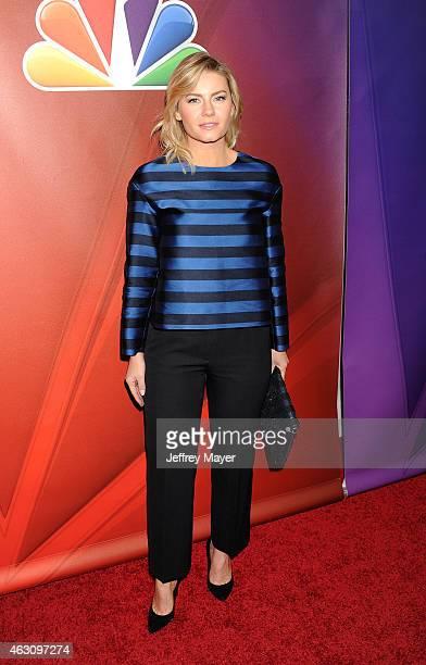 Actress Elisha Cuthbert attends the NBCUniversal 2015 Press Tour at the Langham Huntington Hotel on January 15 2015 in Pasadena California