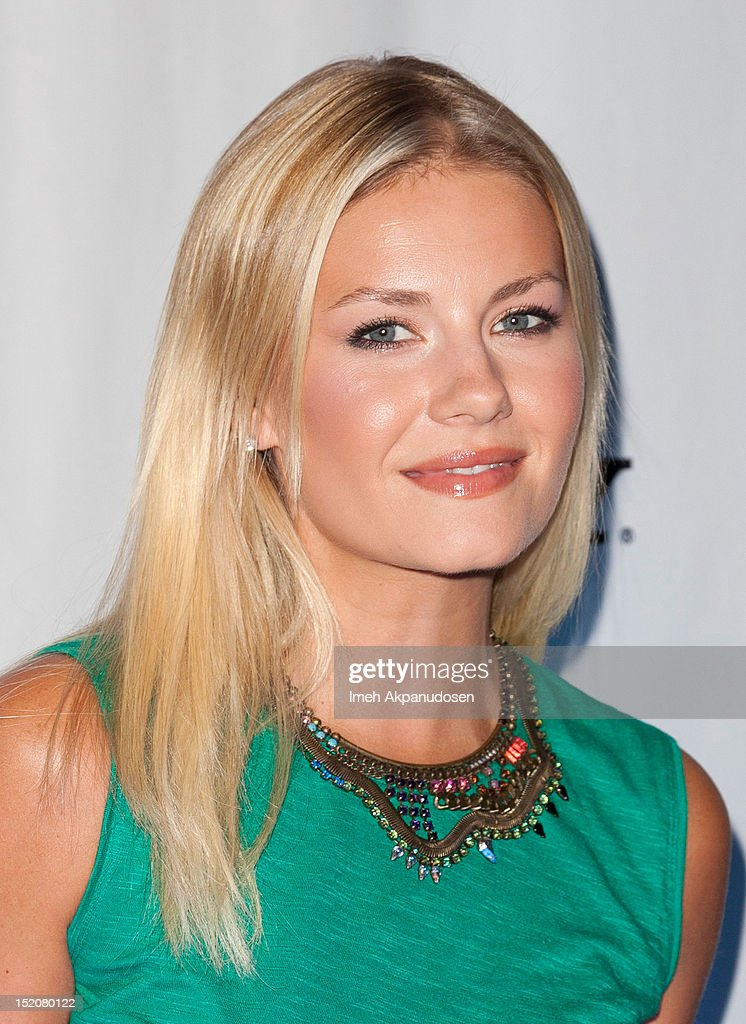 Actress Elisha Cuthbert attends the NYLON And Sony X Headphones September TV Issue Party at Mr. C Beverly Hills on September 15, 2012 in Beverly Hills, California.