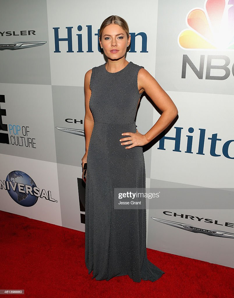 Actress Elisha Cuthbert attends Universal, NBC, Focus Features and E! Entertainment 2015 Golden Globe Awards After Party sponsored by Chrysler and Hilton at The Beverly Hilton Hotel on January 11, 2015 in Beverly Hills, California.