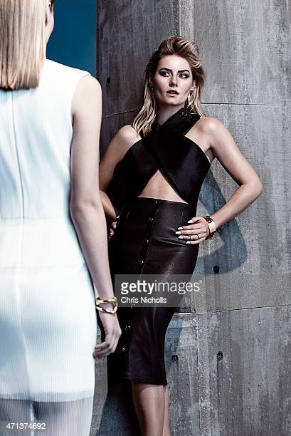 Actress Elisha Cuthbert is photographed for Fashion Magazine on February 8, 2015 in Toronto, Ontario.