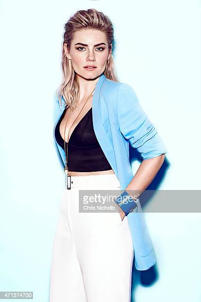 Actress Elisha Cuthbert is photographed for Fashion Magazine on February 8 2015 in Toronto Ontario