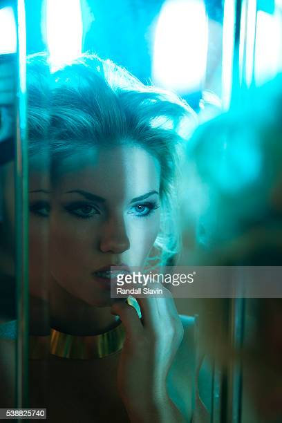Actress Elisha Cuthbert is photographed for New York Moves on January 9 2012 in Los Angeles California