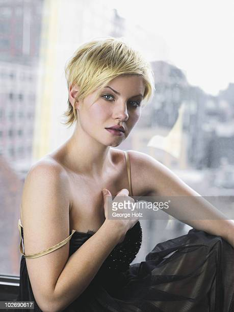 Actress Elisha Cuthbert is photographed for People Magazine on April 5 2007 at Milk Studios in New York City