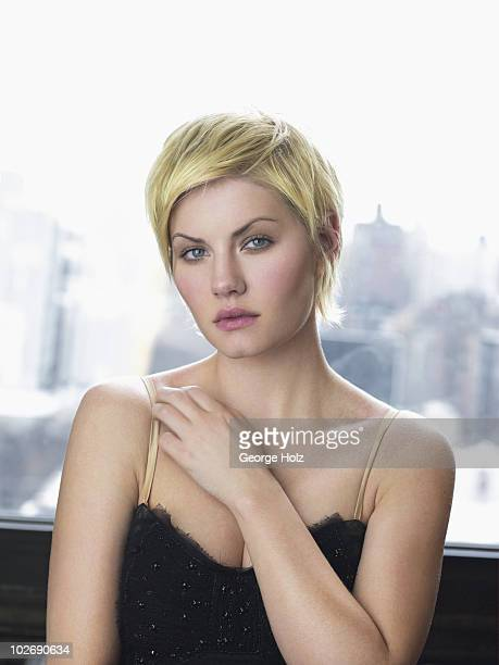 Actress Elisha Cuthbert is photographed for People Magazine on April 5, 2007 at Milk Studios in New York City.