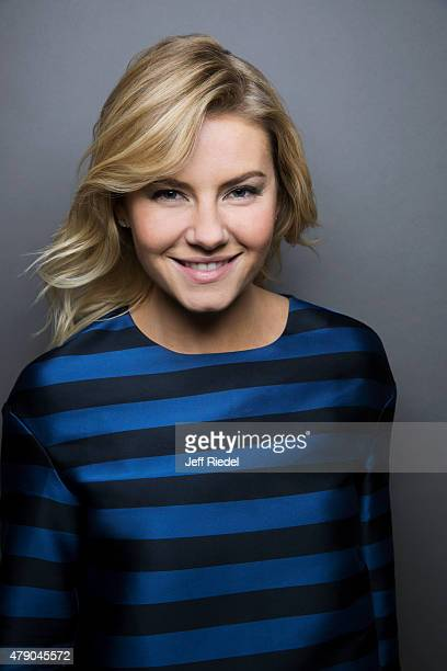Actress Elisha Cuthbert is photographed for TV Guide Magazine on January 16 2015 in Pasadena California