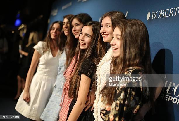 Actress Elit Iscany director Deniz Gamze Erguven actresses Tugba Sunguroglu Gunes Sensoy Ilayda Akdogan and Doga Zeynep Doguslu attend The Hollywood...