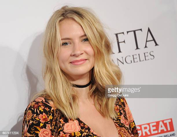 Actress Eliza Bennett arrives at the BBC America BAFTA Los Angeles TV Tea Party at The London Hotel on September 17, 2016 in West Hollywood,...