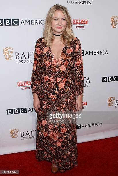Actress Eliza Bennett attends the BBC America BAFTA Los Angeles TV Tea Party at The London Hotel on September 17, 2016 in West Hollywood, California.