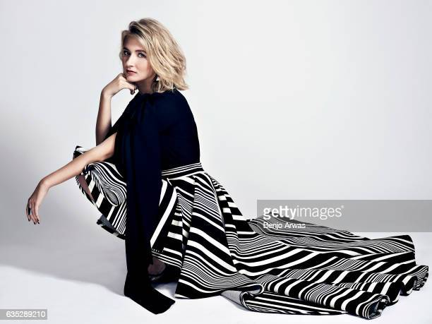 Actress Eliza Bennett is photographed for Composure Magazine on October 1 2016 in Los Angeles California