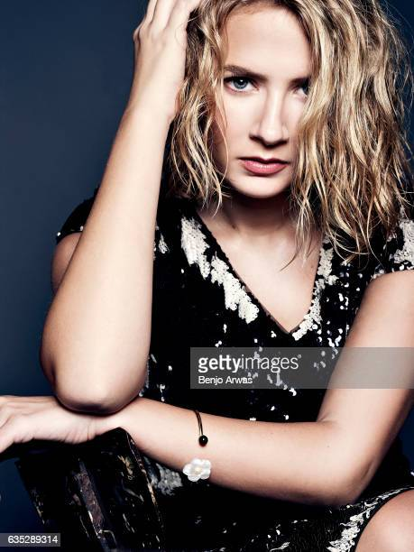 Actress Eliza Bennett is photographed for Composure Magazine on October 1 2016 in Los Angeles California PUBLISHED IMAGE