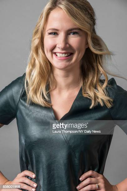 Actress Eliza Bennett photographed for NY Daily News on October 6 in New York City