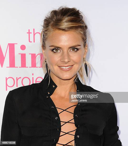 Actress Eliza Coupe attends 'The Mindy Project' 4th season premiere at Ysabel on September 12 2015 in West Hollywood California