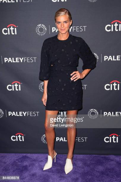 Actress Eliza Coupe attends The Paley Center for Media's 11th Annual PaleyFest fall TV previews Los Angeles for Hulu's Future Man at The Paley Center...