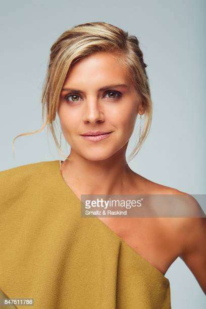 Actress Eliza Coupe of Hulu's 'Future Man' poses for a portrait during the 2017 Summer Television Critics Association Press Tour at The Beverly...