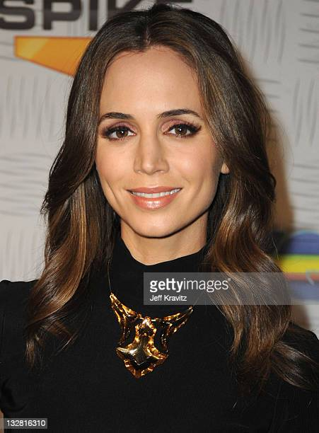 Actress Eliza Dushku arrives at Spike TV's '2010 Video Game Awards' held at the LA Convention Center on December 11 2010 in Los Angeles California