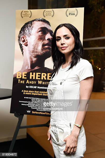 Actress Eliza Dushku attends the after party for the premiere of 'Be Here Now' at UTA Theater on April 5 2016 in Los Angeles California