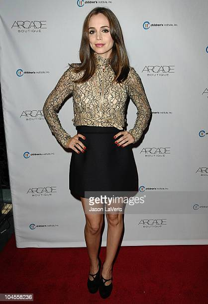 Actress Eliza Dushku attends the Autumn Party benefiting Children's Institute at The London Hotel on September 29, 2010 in West Hollywood, California.