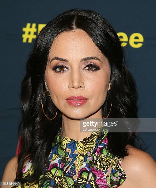 Actress Eliza Dushku attends the premiere of Cinemax's 'Banshee' 4th Season at UTA on March 31 2016 in Beverly Hills California