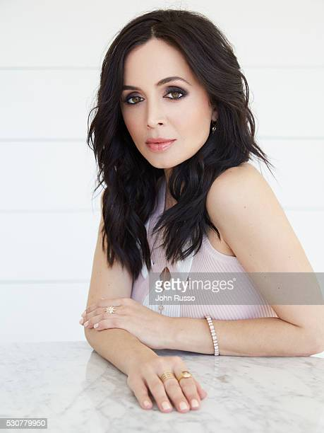 Actress Eliza Dushku is photographed for Self Assignment on January 1 2016 in Los Angeles California