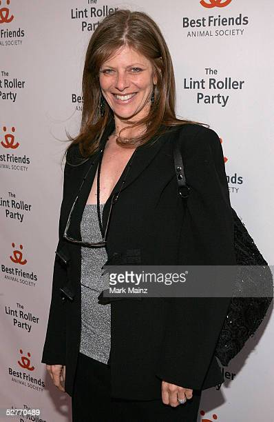 Actress Eliza Robertson attends The 2005 Roller Lint Party benefiting Los Angeles animals on May 6 2005 at the Roosevelt Hotel in Los Angeles...