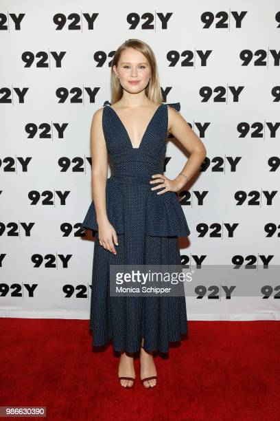 Actress Eliza Scanlen attends HBO's Sharp Objects New York Screening And Conversation at 92nd Street Y on June 28 2018 in New York City