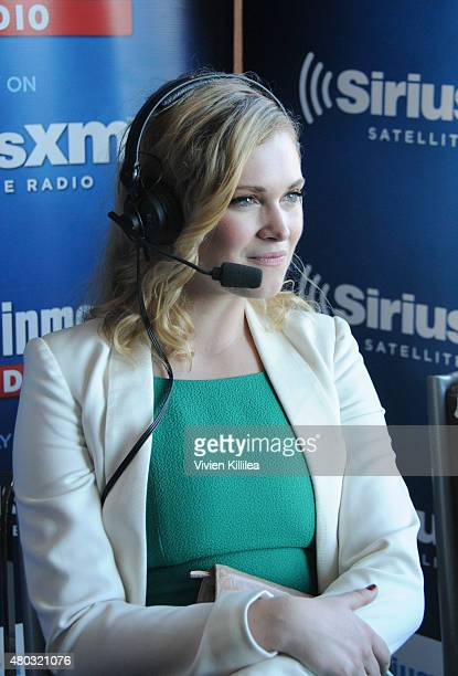 Actress Eliza Taylor attends SiriusXM's Entertainment Weekly Radio Channel Broadcasts From ComicCon 2015 at Hard Rock Hotel San Diego on July 10 2015...