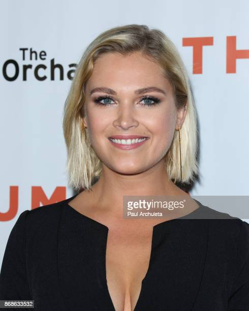 Actress Eliza Taylor attends the premiere of Thumper at the Egyptian Theatre on October 30 2017 in Hollywood California