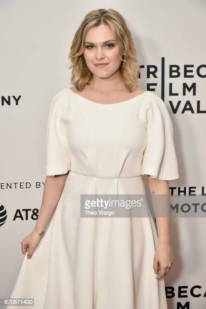 Actress Eliza Taylor attends the 'Thumper' Premiere during 2017 Tribeca Film Festival at Cinepolis Chelsea on April 20 2017 in New York City