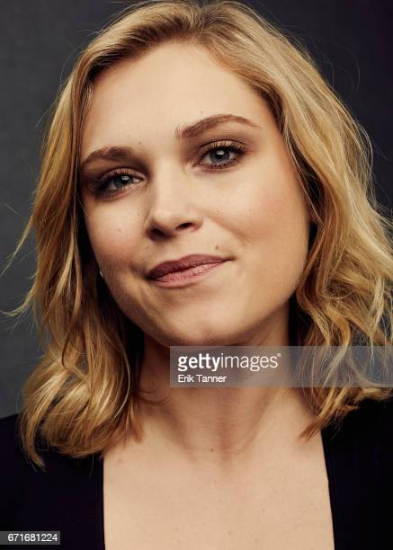 Actress Eliza Taylor from 'Thumper' poses at the 2017 Tribeca Film Festival portrait studio on on April 22 2017 in New York City