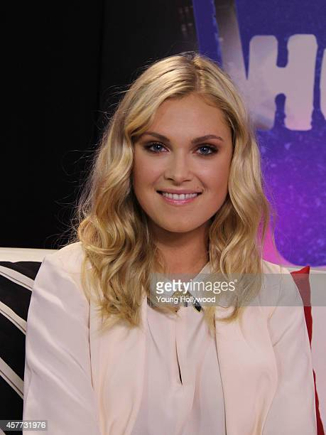 Actress Eliza Taylor visits the Young Hollywood Studio on October 22 2014 in Los Angeles California