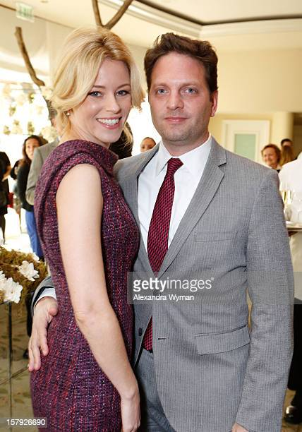 Actress Elizabeth Banks and producer Max Handelman attend the 7th Annual March of Dimes Celebration of Babies a Hollywood Luncheon at the Beverly...