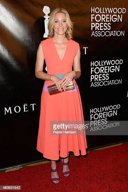 Actress Elizabeth Banks arrives at the Hollywood Foreign Press Association Hosts Annual Grants Banquet at the Beverly Wilshire Four Seasons Hotel on...