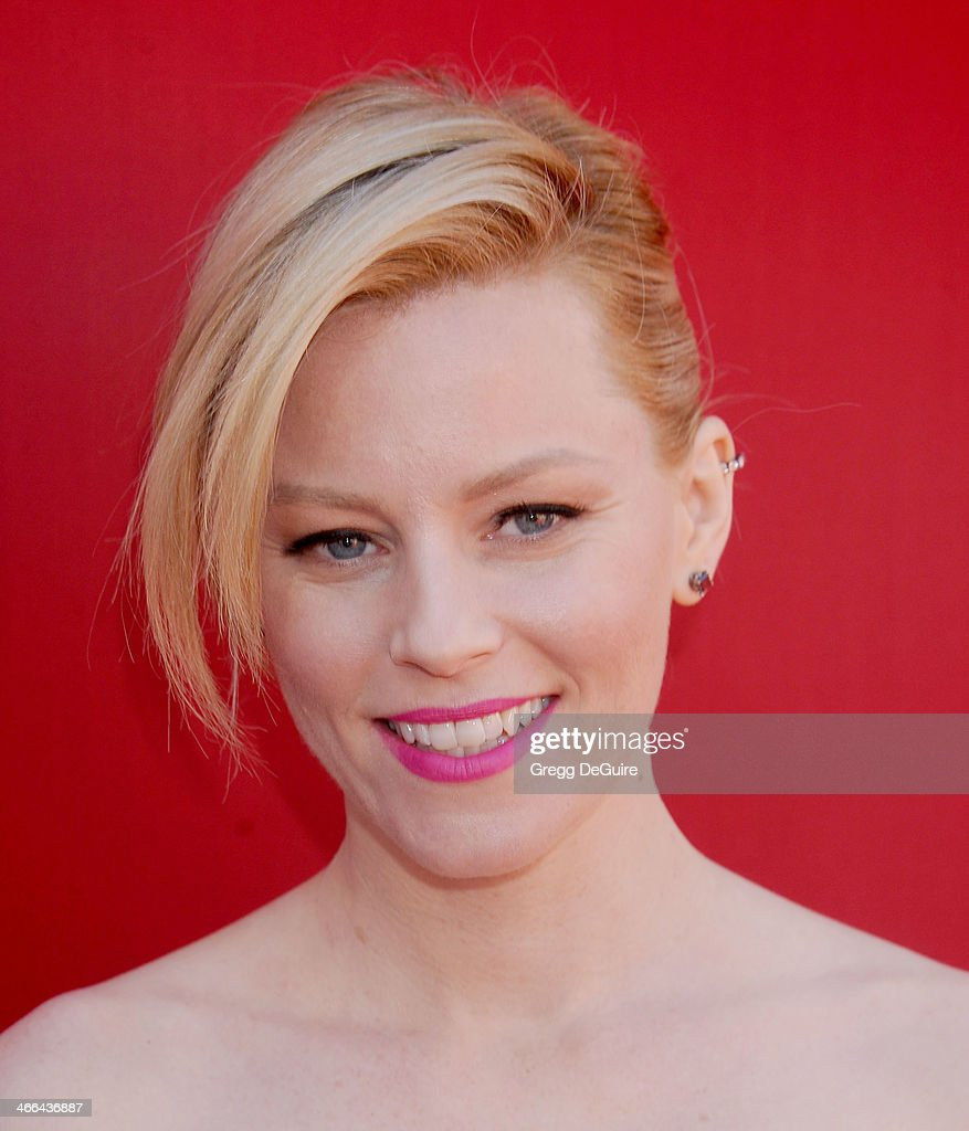 Actress Elizabeth Banks arrives at the Los Angeles premiere of 'The Lego Movie' at Regency Village Theatre on February 1, 2014 in Westwood, California.