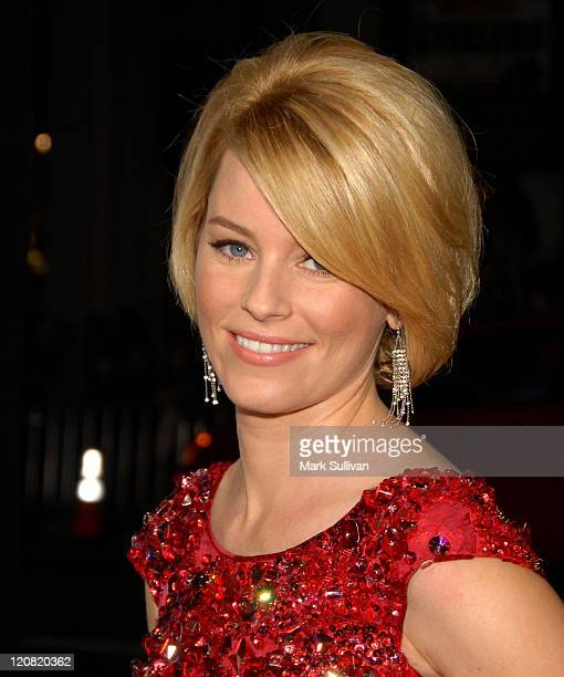 Actress Elizabeth Banks arrives at the Los Angeles Premiere of Zack And Miri Make A Porno at the Grauman's Chinese Theater on October 20 2008 in...