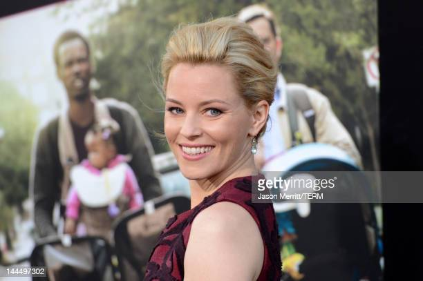 Actress Elizabeth Banks arrives at the premiere of Lionsgate's What To Expect When You're Expecting held at Grauman's Chinese Theatre on May 14 2012...
