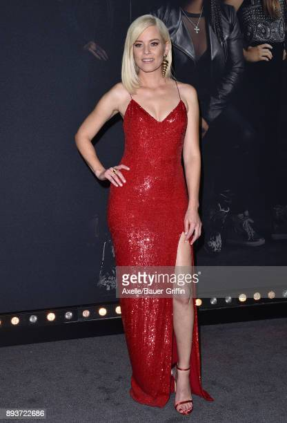 Actress Elizabeth Banks arrives at the premiere of Universal Pictures' 'Pitch Perfect 3' at Dolby Theatre on December 12 2017 in Hollywood California