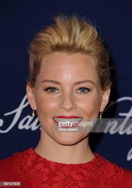 Actress Elizabeth Banks arrives at Variety's 5th Annual Power of Women event presented by Lifetime at the Beverly Wilshire Four Seasons Hotel on...