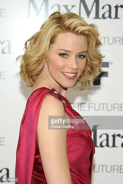 Actress Elizabeth Banks arrives to be honored as Women In Film MaxMara Face of the Future 2009 Cocktail Party at The Sunset Tower Hotel on April 29...