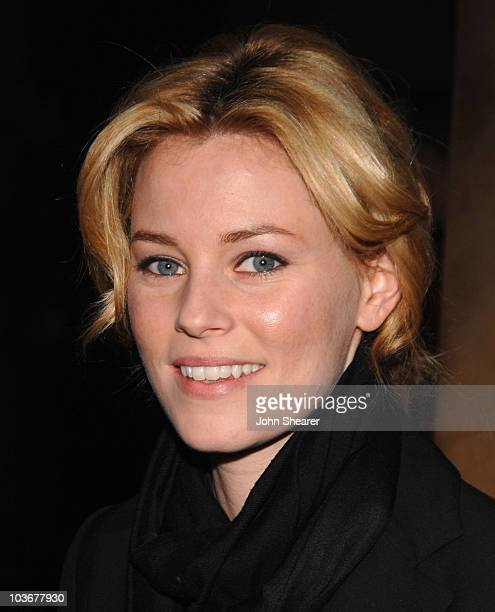 Actress Elizabeth Banks arrives to the premiere of 'Just Add Water' at the Directors Guild of America on March 18 2008 in Hollywood California