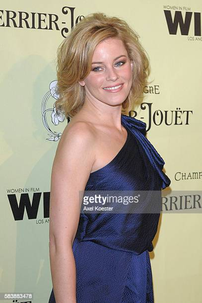 Actress Elizabeth Banks arrives to the Women In Film 2nd Annual PreOscar® Cocktail Party at the home of Peter and Tara Guber in Bel Air