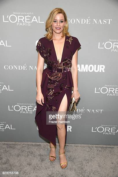 Actress Elizabeth Banks attends Glamour Women Of The Year 2016 at NeueHouse Hollywood on November 14 2016 in Los Angeles California