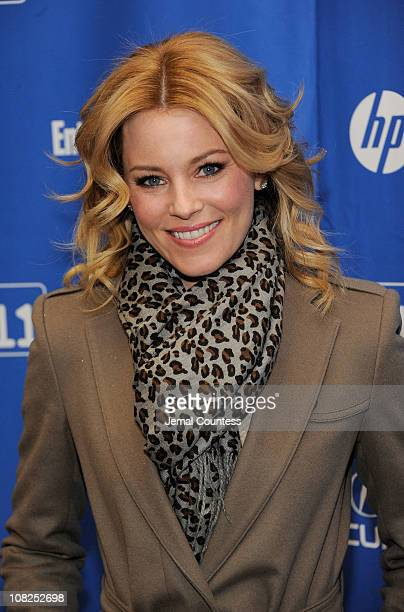 Actress Elizabeth Banks attends My Idiot Brother Premiere at the Eccles Center Theatre during the 2011 Sundance Film Festival on January 22 2011 in...