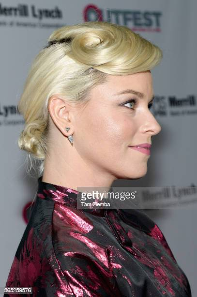 Actress Elizabeth Banks attends the 13th Annual Outfest Legacy Awards at Vibiana on October 22 2017 in Los Angeles California
