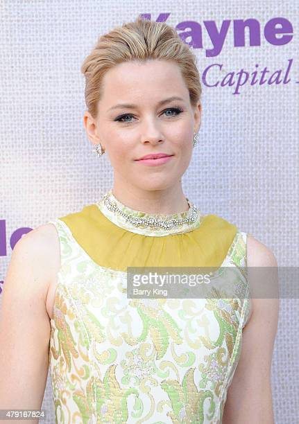 Actress Elizabeth Banks attends the 14th annual Chrysalis Butterfly Ball sponsored by Audi Kayne Anderson Lauren B Beauty and Z Gallerie on June 6...