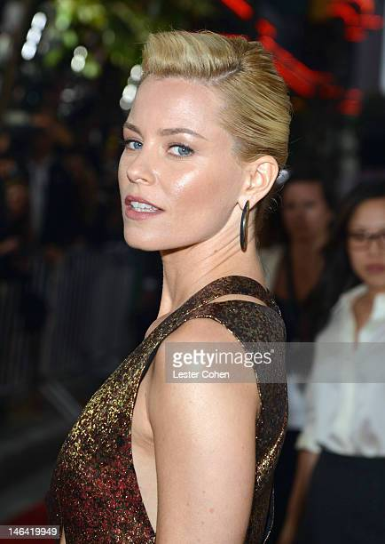 """Actress Elizabeth Banks attends the 2012 Los Angeles Film Festival Premiere of """"People Like Us"""" at Regal Cinemas L.A. LIVE Stadium 14 on June 15,..."""
