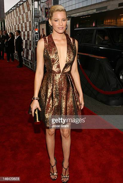 Actress Elizabeth Banks attends the 2012 Los Angeles Film Festival Premiere of 'People Like Us' at Regal Cinemas L.A. LIVE Stadium 14 on June 15,...