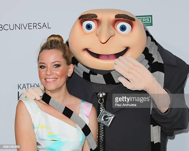 Actress Elizabeth Banks attends the 2014 LA's Promise Gala at Universal Studios Hollywood on September 30 2014 in Universal City California