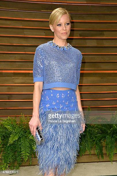 Actress Elizabeth Banks attends the 2014 Vanity Fair Oscar Party hosted by Graydon Carter on March 2 2014 in West Hollywood California