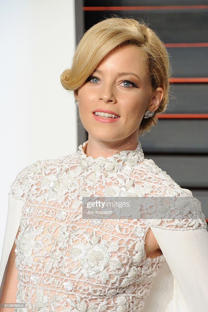 Actress Elizabeth Banks attends the 2016 Vanity Fair Oscar Party hosted By Graydon Carter at Wallis Annenberg Center for the Performing Arts on February 28, 2016 in Beverly Hills, California.