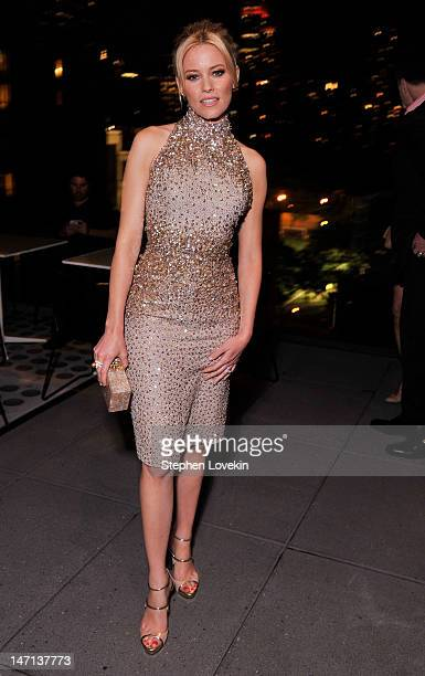 "Actress Elizabeth Banks attends the after party for the Cinema Society with Linda Wells & Allure screening of DreamWorks Studios' ""People Like Us"" at..."